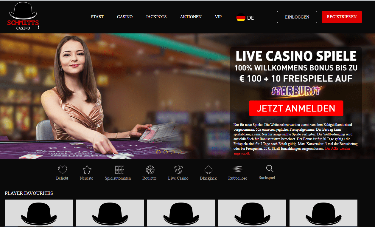 Schmitts Casino Home