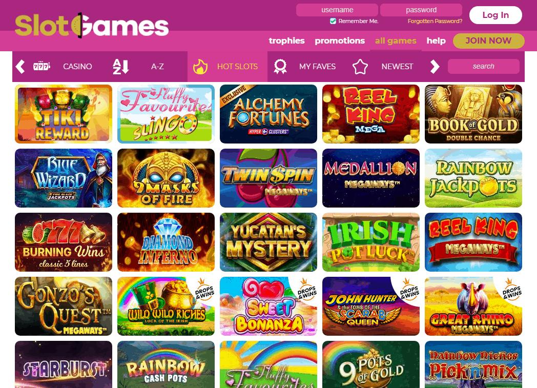 Slot Games Game