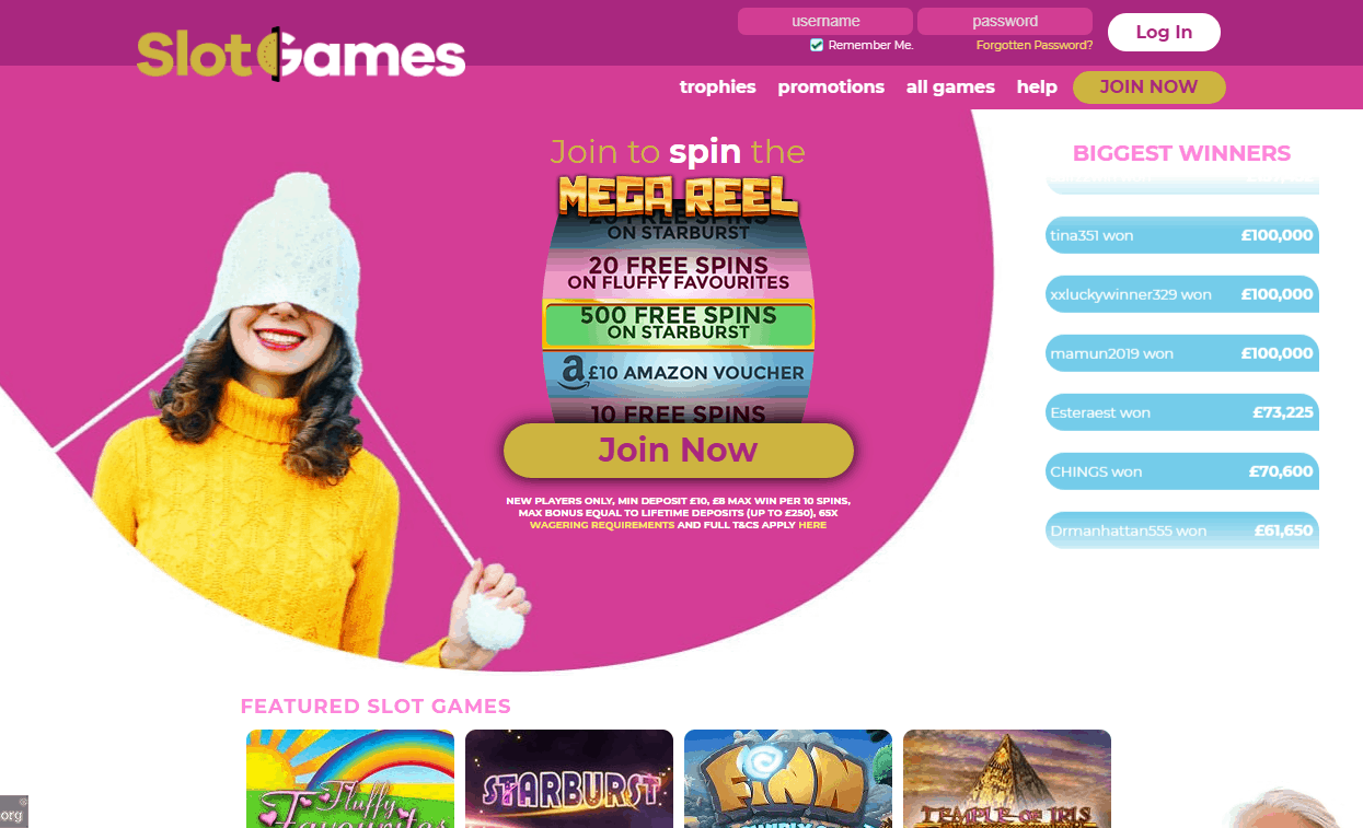Slot Games Home