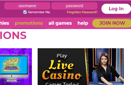 Slot Games Login