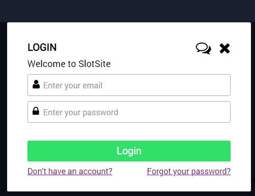 Slot Site Login