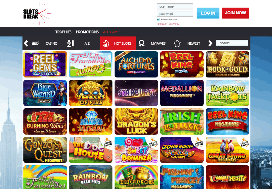 Slots Break games