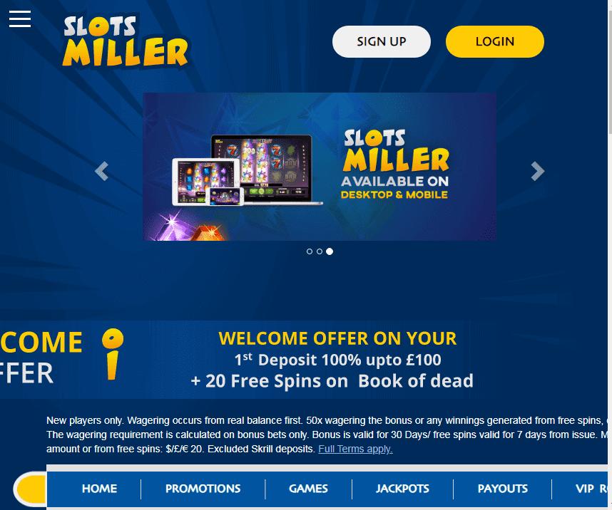 Slots Miller image