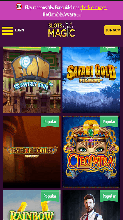 SlotsMagic game mobile