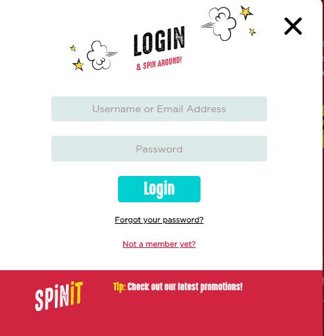Spinit Login