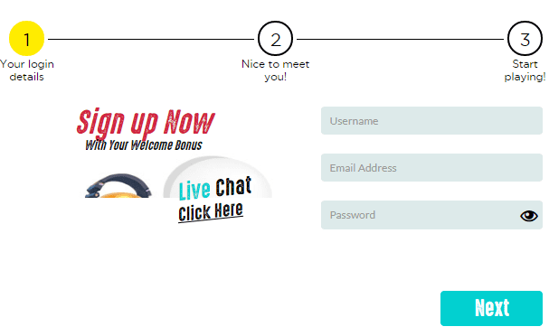 Spinit Signup
