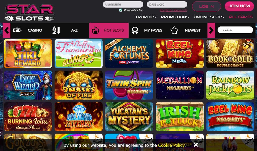 Star Slots Game