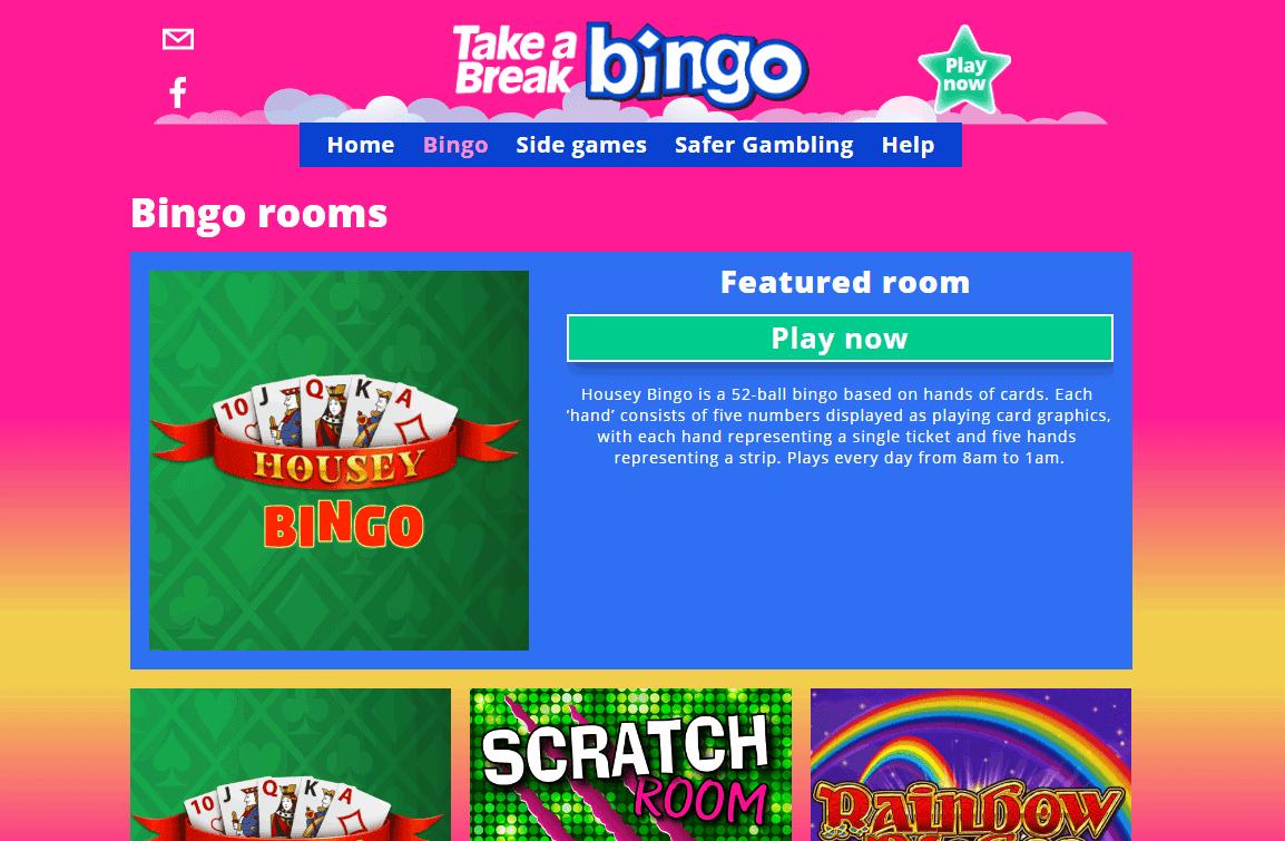 Take a Break Bingo Promotions