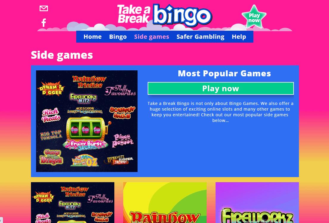 Take a Break Bingo