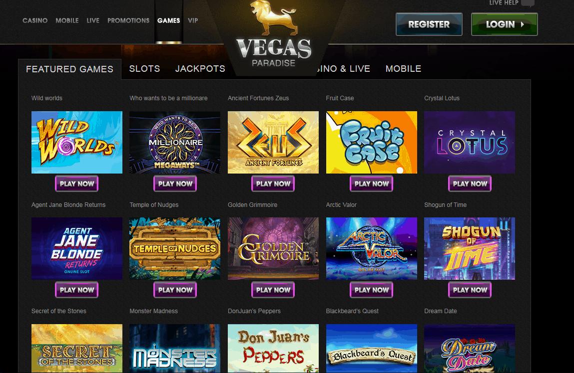 Vegas Paradise Game