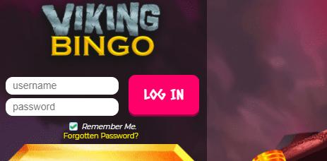 Viking Bingo login