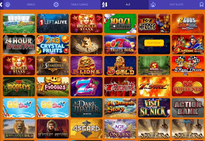 aladdin slots all games