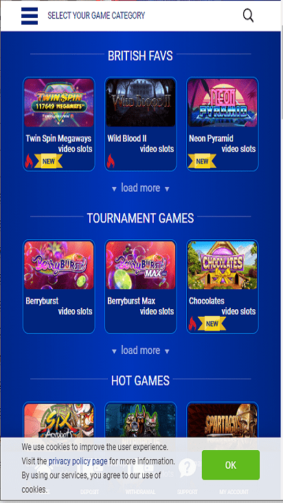 allbritishcasino game mobile