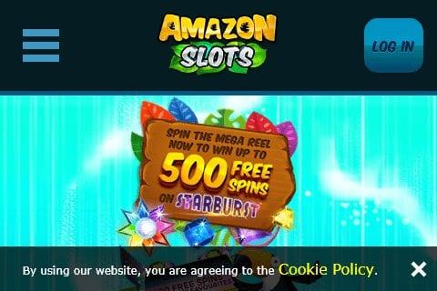 amazon slots front image