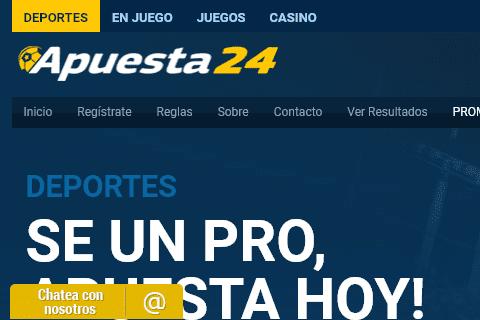 apuesta24 front image