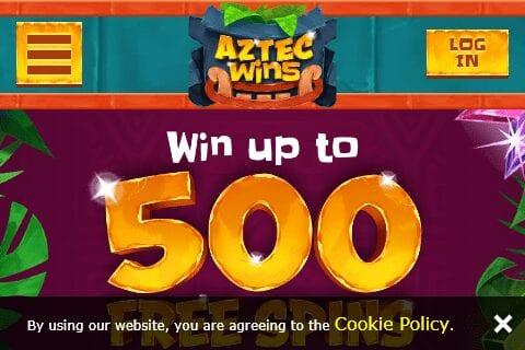 Aztec Wins  Home