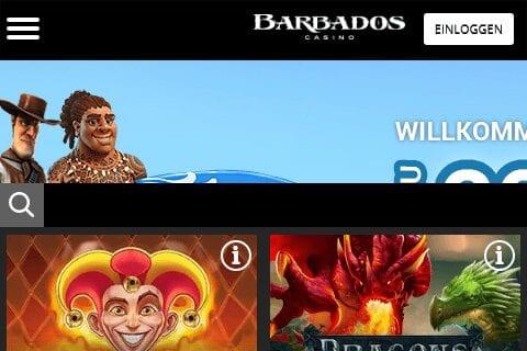 barbados casino front image