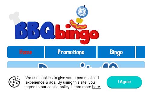 bbq bingo front image