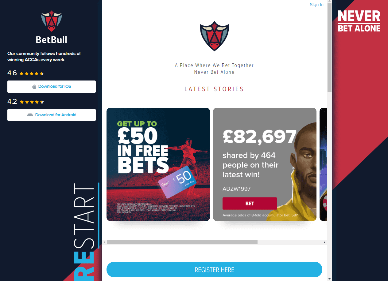 bet bull home page