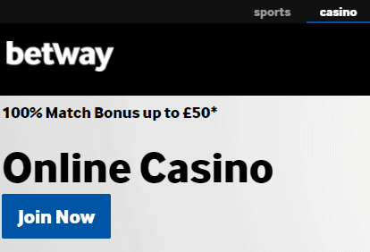 betway casinos front image