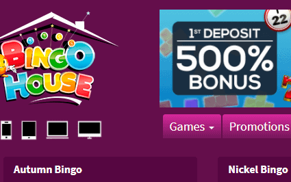 bingo house front image