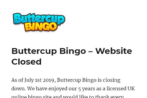 buttercup bingo front image