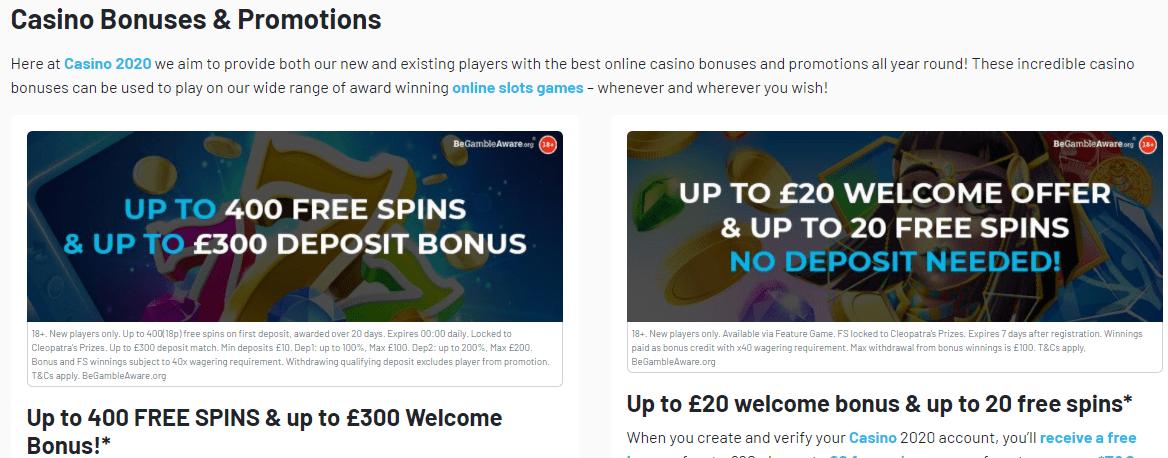 casino2020 promotion