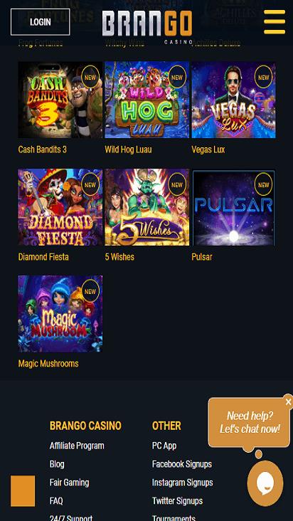 casinobrango game mobile