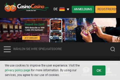 all british casino front image
