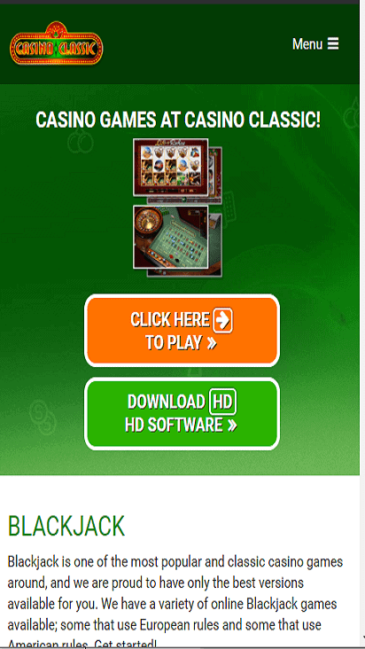 casinoclassic game mobile