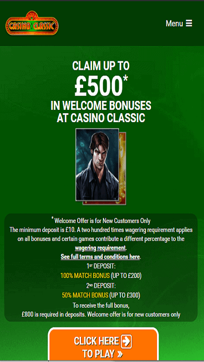 casinoclassic home mobile