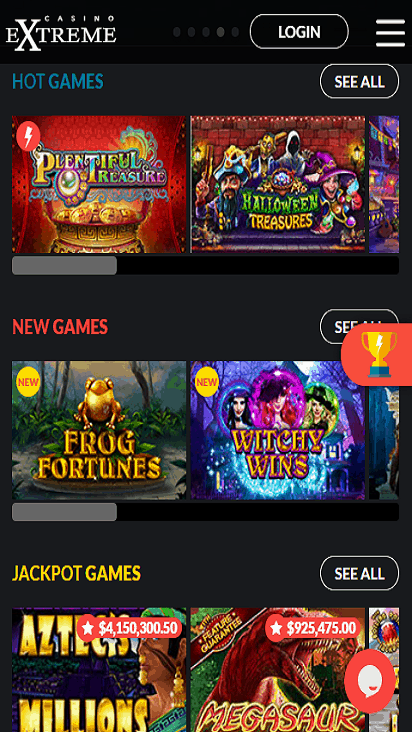 casinoextreme game mobile