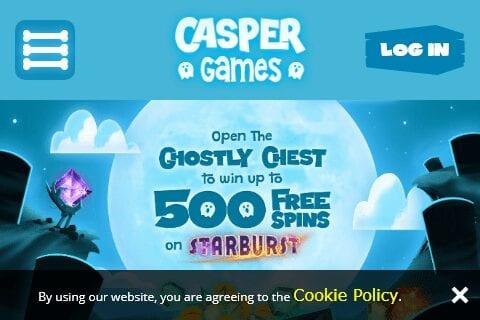 Casper Games Home