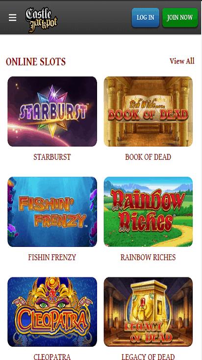 castlejackpot game mobile
