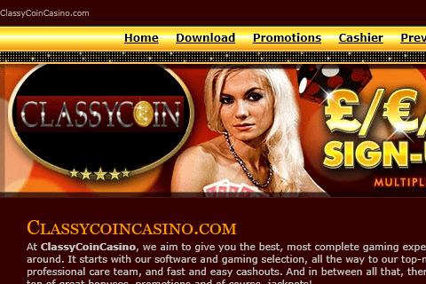 classycoincasino front image