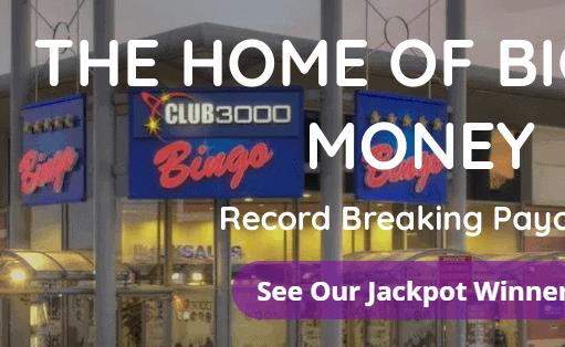 club 3000 bingo front image