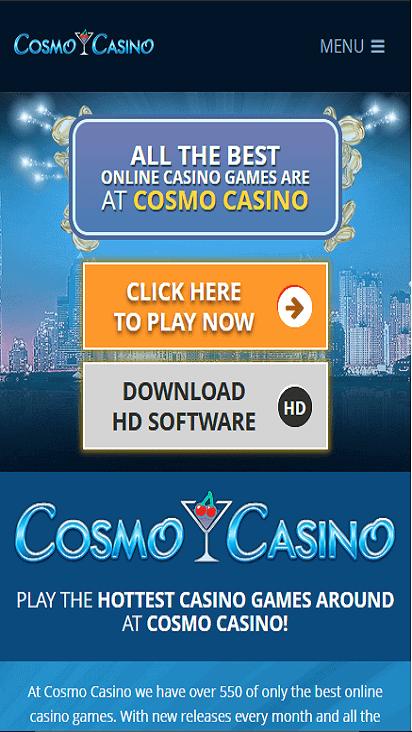 cosmocasino game mobile