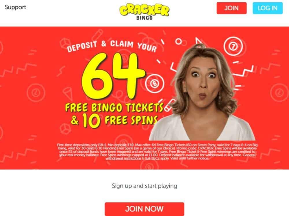 cracker bingo home