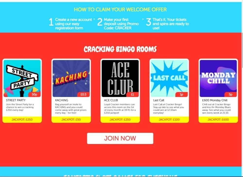 cracker bingo promo