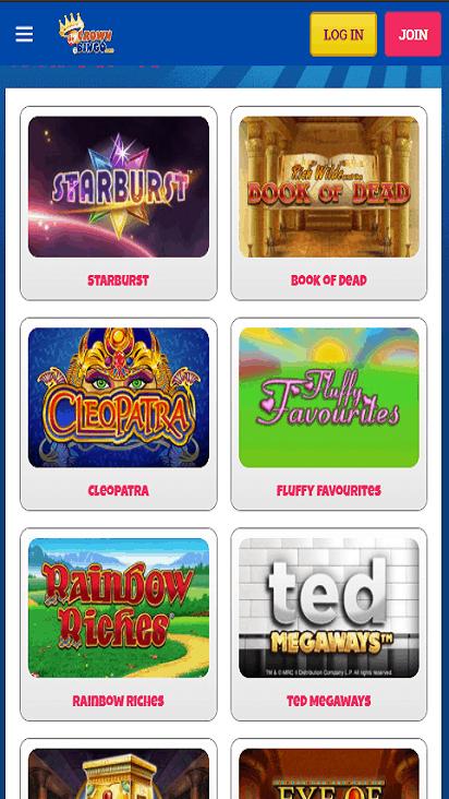 crownbingo game mobile