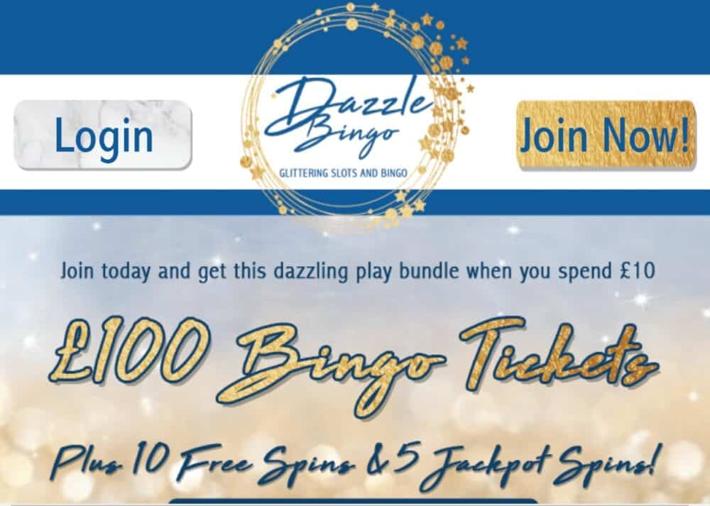dazzle bingo home
