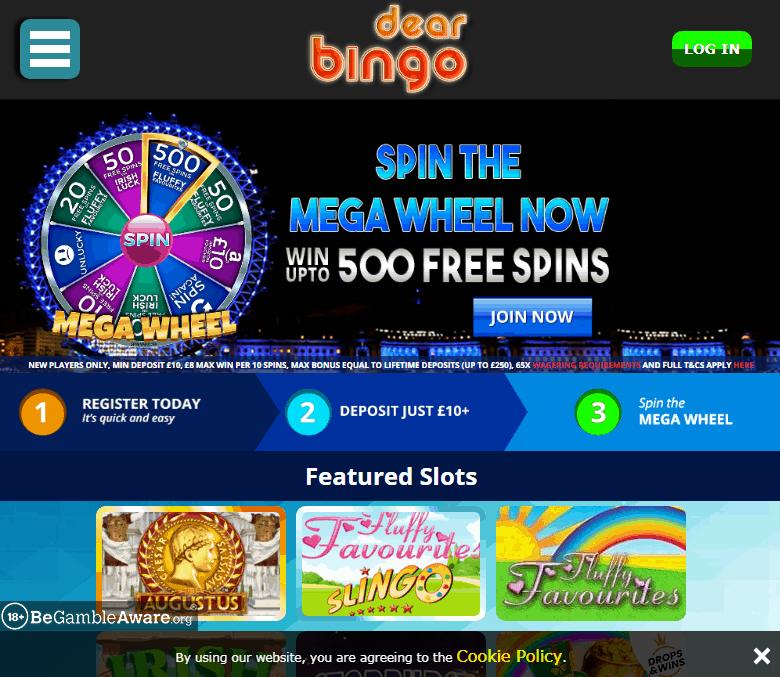 dear bingo Iamge