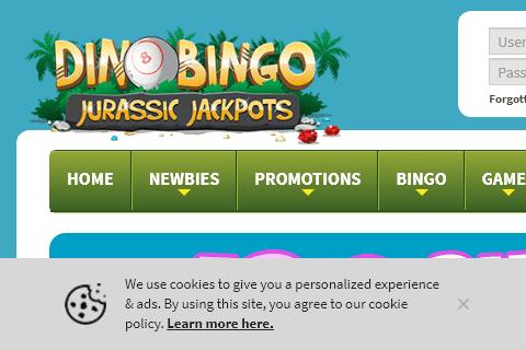 dino bingo 480 image