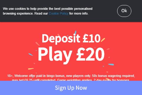 dotty bingo front image