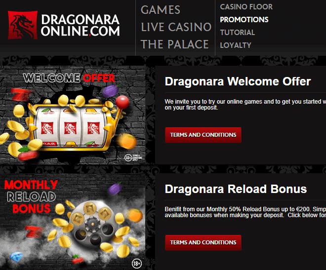 dragonaraonline promotion