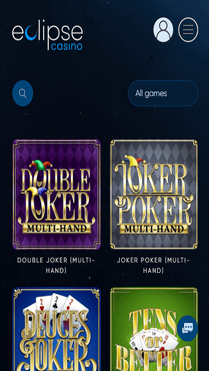 eclipsecasinonew game moblie