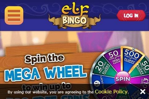 Elf Bingo Home