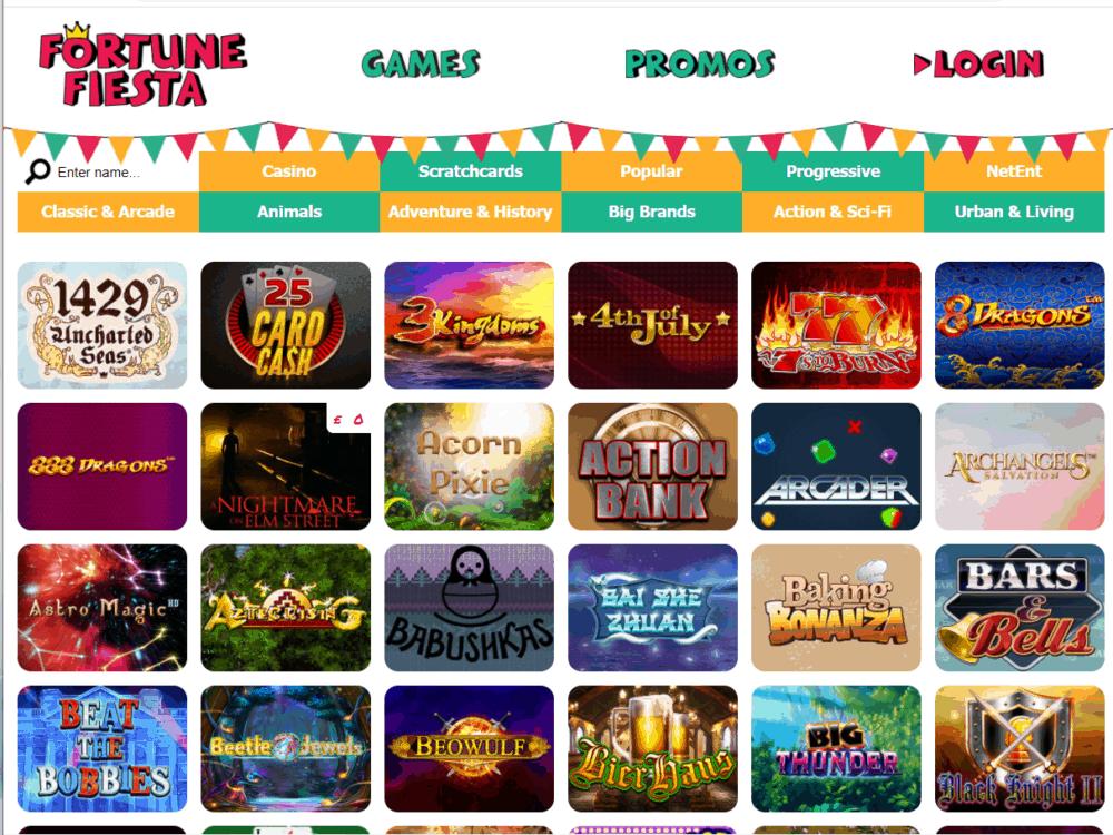 fortune fiesta games