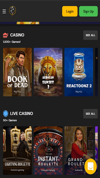 fortunejack game mobile