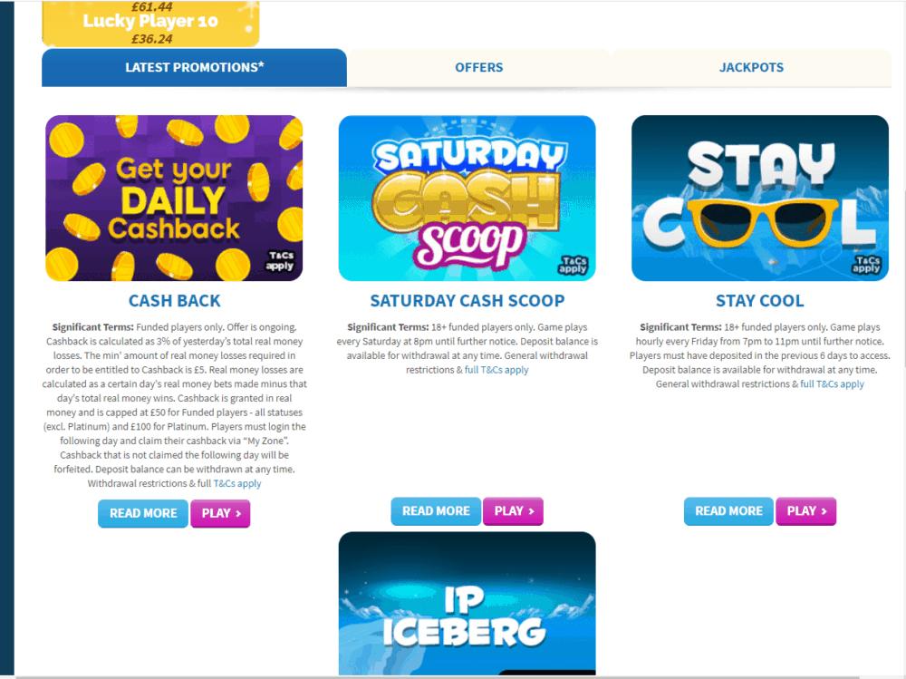 frozen bingo promo